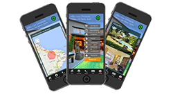 Example of a WebApp for a holiday home