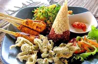 Küche von Bali - Indonesien