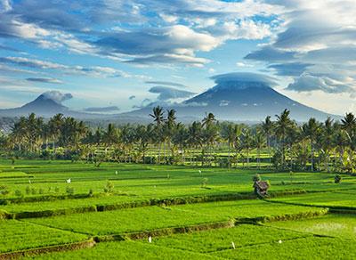 Gunung Agung Bali (grande montaña)