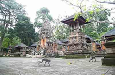 Tempel auf Bali - Indonesien