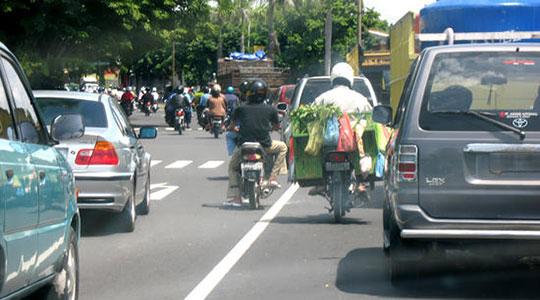 Transport auf Bali - Indonesien