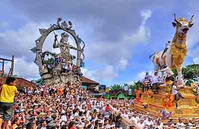 festivos religiosas en Bali