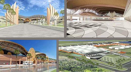 Neuer Flughafen Denpasar Bali
