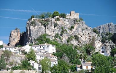 Guadalest dorp