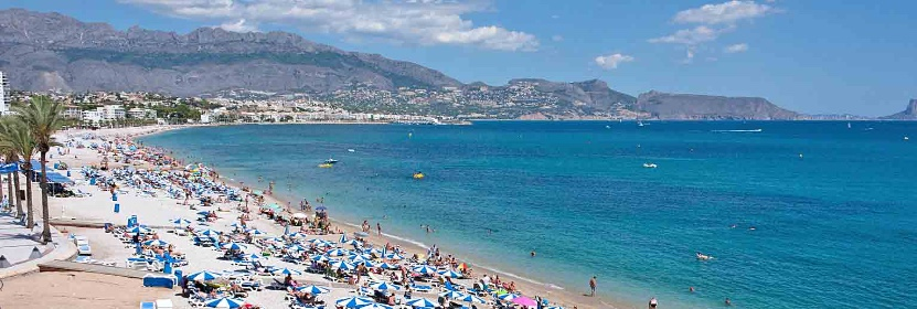 Altea, Alabir Beach, Costa Blanca