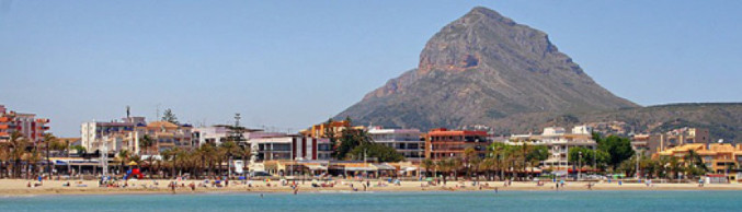 Playa El Arenal of Javea