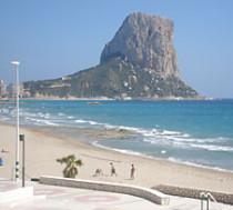 Strand van Calpe