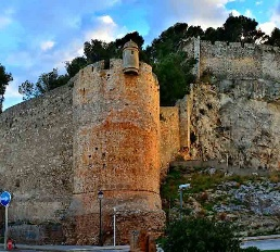 El castillo de Denia
