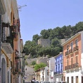 Vista al castillo de Denia - Costa Blanca - Alicante