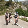fietsen  aan de Costa Blanca