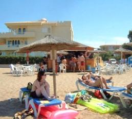 Las Marinas Strand von Denia