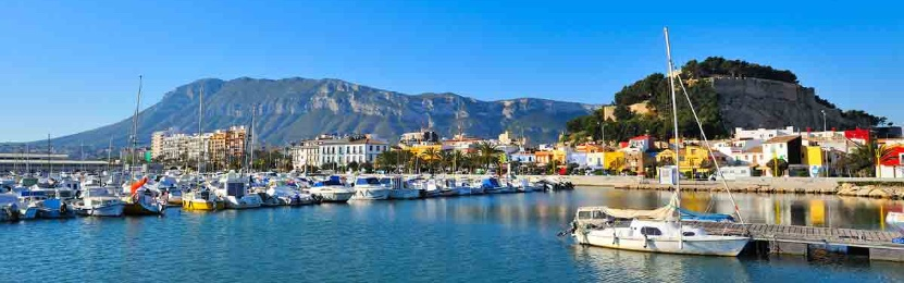 Port in Denia, Costa Blanca