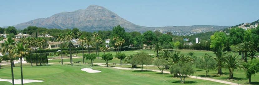Golf club Javea Costa Blanca