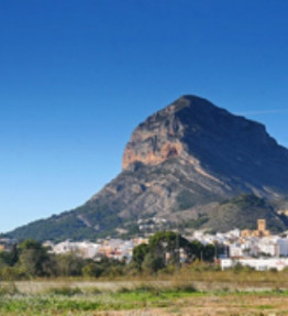 The mountain Montgo in Javea
