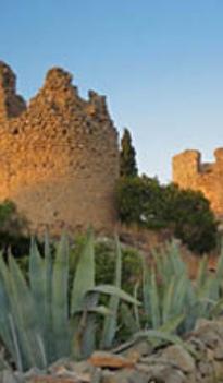 Ruins of the windmills between Javea and Denia - Costa Blanca - Spain