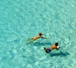 Schwimmen in Denia