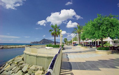 Strandpassage Altea - Costa Blanca - Spanje