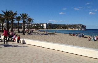 La spiaggia El Arenal