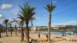 Sandy beach of Javea