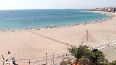 Strand Las Marinas von Denia