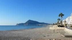 La spiaggia dell'Espigó ad Altea