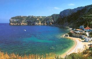 La spiaggia di Portichol