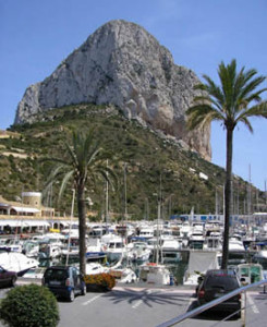 Haven Ifach in Calpe