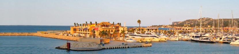Der Hafen La Marina de Denia