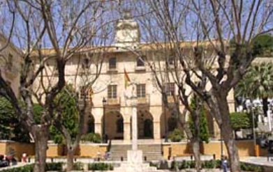 Townhall in Denia