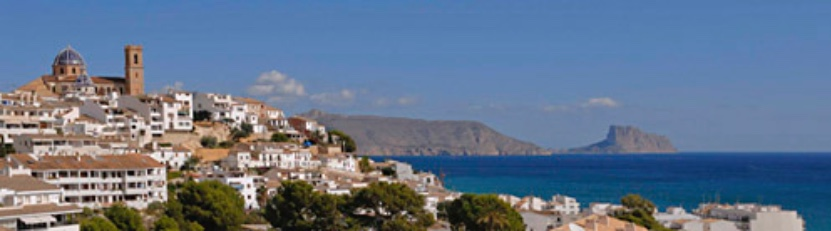 holiday rental of villas, houses, homes and apartments - Altea - Costa Blanca - Spain
