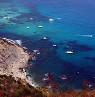 Uitzicht op de kust van Calpe